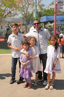 Fun day for orphans in honor of Benjy Klyne's Bar Mitzvah, Luna Park- Central Israel